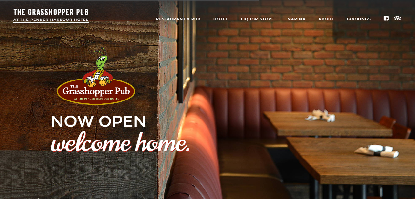 The Pender Harbour Hotel homepage